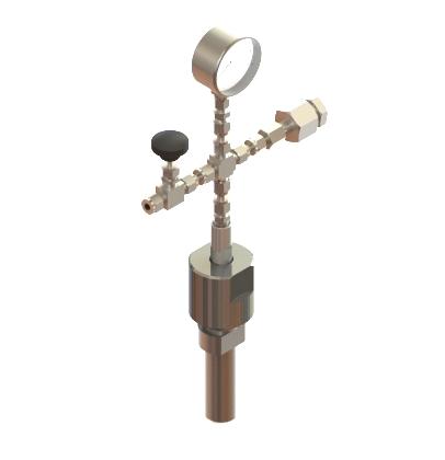 High pressure reactor RVD-1-50H