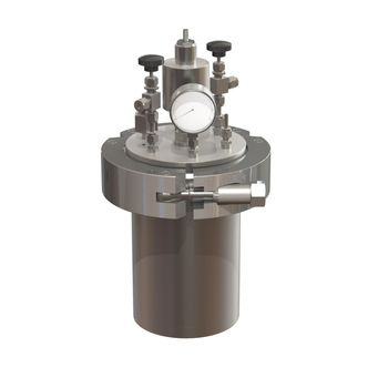 High pressure reactor 60 bar